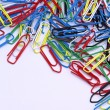 Paper clip 01 — Stock Photo #11537677