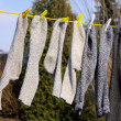 Socks on line 01 — Stock Photo