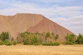 Zielitz potash salt dump 04 — Stock Photo