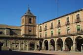 Avila Plaza Mayor 01 — Stock Photo