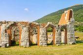 Gubbio amphitheatre 03 — Stock Photo