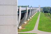 Magdeburg Water Bridge 04 — Stock Photo