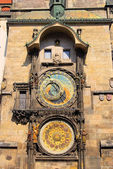 Prague tower clock 01 — Stock Photo