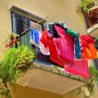 Laundry balcony 04 — Stock Photo