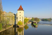 Prague Moldau 01 — Stock Photo