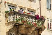Split balcony 03 — Stock Photo