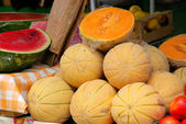 Muskmelon 01 — Stock Photo