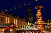 Dresden weihnachtsmarkt 19 — Stockfoto