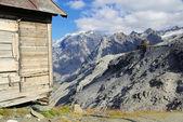 Stelvio Pass Tibet-Hut 02 — Stock Photo