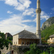 Stock Photo: Mostar mosque 01