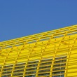 Structural steelwork yellow 01 — Stock Photo