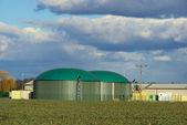 Biogasanlage - impianto di biogas 46 — Foto Stock