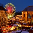 Magdeburg christmas market 01 — Stock Photo