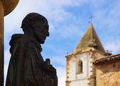 Caceres Statue 02 — Stock Photo
