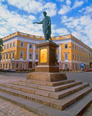 Monument to Duke de Richelieu in Odessa, Ukraine — Stock Photo