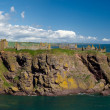 Panorama of Dunnotar Castle — Stock Photo