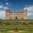 Garden and Castle of Drumlanrig — Stock Photo