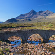 Stone bridge over a small river, Isle of Skye — Stock Photo