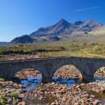 Stone bridge over a small river, Isle of Skye — Stock Photo #11174890