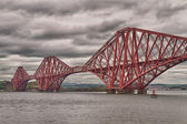 Firth of Forth Bridge, Scotland, United Kingdom — Stock Photo