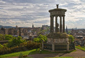 Cityscape of Edinburgh — Stock Photo