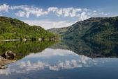 Reflections on Loch Lomond — Stock Photo