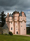 Baronial Craigievar Castle — Stock Photo