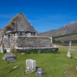 Ruin of church and graveyard — Stock Photo #11354014