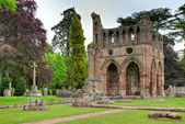 Ruins of the Dryburgh Abbey — Stock Photo