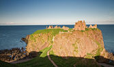 Dunnotar castle at Sunset — Stock Photo