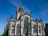 Facade of St. Giles Cathedral — Stock Photo
