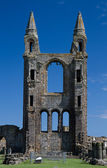 Ruined tower of St. Andrews Cathedral — Stock Photo