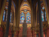 Lower Chapel of the Sainte Chapelle — Stock Photo