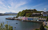 Old Harbor of Portree — Stock Photo