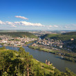 Lookout Rossel - Viewpoint of the Rhine Valley — Stock Photo