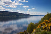 Lookout over Loch Ness — Stock Photo