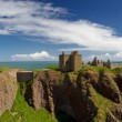 Ruins of Dunnotar Castle — Stock Photo