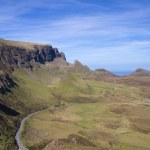 Road through the Quirinaig mountains — Stock Photo