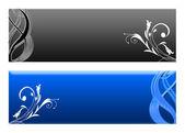 цветочные баннеры — Стоковое фото