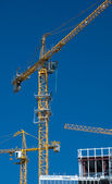 Hoisting-crane — Stock Photo