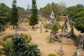 Buddha park — Stock Photo