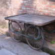 Stock Photo: Old handcart