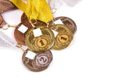 Kit of the medals — Stock Photo