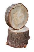 Two wooden stump — Stock Photo
