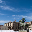 Main Square of Trujillo — Stock Photo