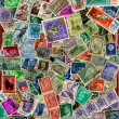 Stamps  stamps  stamps — Stock Photo