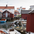 Small fishing village in Sweden — Stock Photo #11339266
