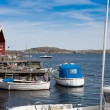 Small fishing village in Sweden — Stock Photo #11339284