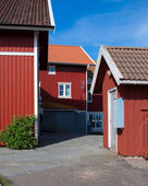 Vacation homes in Sweden — Stock Photo