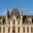 Town Hall, Bruges — Stock Photo